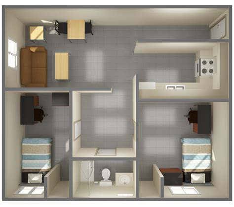 Shared Bathroom Floor Plans university towers campus services student affairs