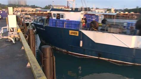 fishing boat for sale darwin fishing boat ocean harvest j003 departs fishermans wharf