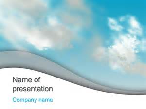 cloud template for powerpoint free clouds sky powerpoint template for your