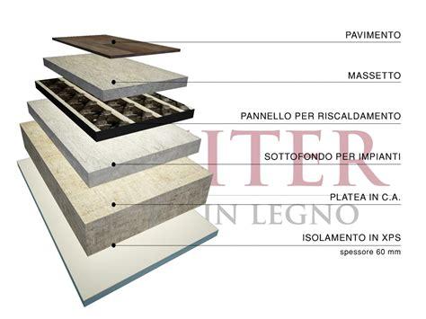 isolante per pavimenti esterni in legno in classe a pareti tetto pavimento