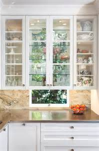 kitchen cabinets with windows kitchen design glass cabinets in front of windows