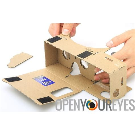 Diy Glasses diy 3d cardboard vr glasses mobile phone