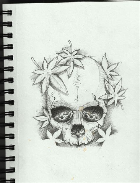 tattoo ideas drawings skull design by frosttattoo on deviantart