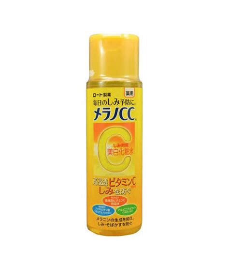 Jual Rohto Melano Cc Anti Spot Whitening Lotion Blemish Care Ori Japan n豌盻嫩 hoa h盻渡g cc melano vitamin c c盻ァa nh蘯ュt 170ml 2018 v盻ォa v盻