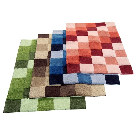 Bathroom Rugs On Sale Better Trends Tiles Bath Rug Reviews Wayfair