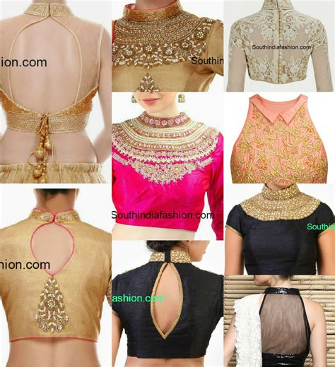 pattern making for blouse classy high neck blouse designs 10 trendy patterns south