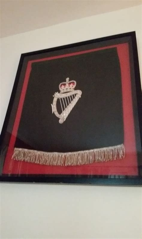 Framed Royal London Irish Podium Drape