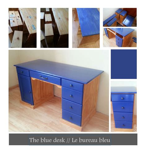 le bureau the blue desk le bureau bleu nieto