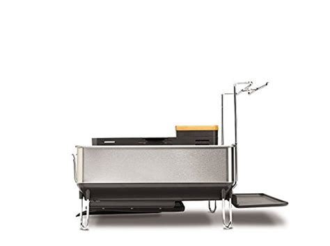 from u s a simplehuman steel frame dish rack with wine