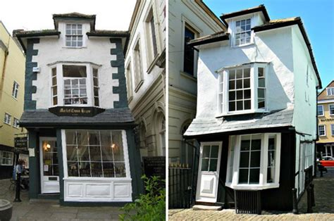 crooked house a vacation home tilts to the right it is a house with a twist the 16th century crooked house of