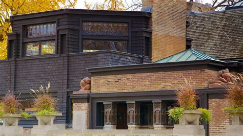 frank lloyd wright home and studio in chicago illinois