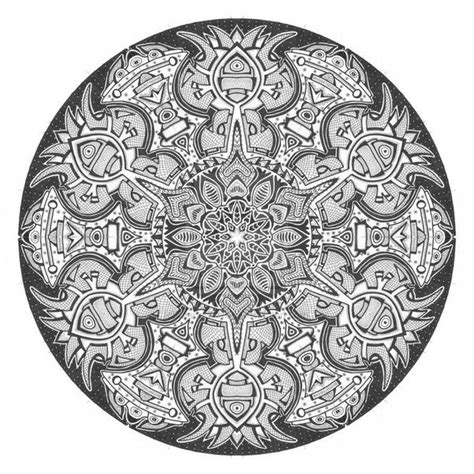 circular pattern drawing what is the difference between doodle and mandala quora