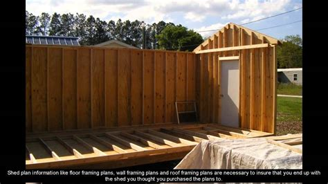 10 X 8 Wood Floor Shed Plans - 8 x 12 shed plans