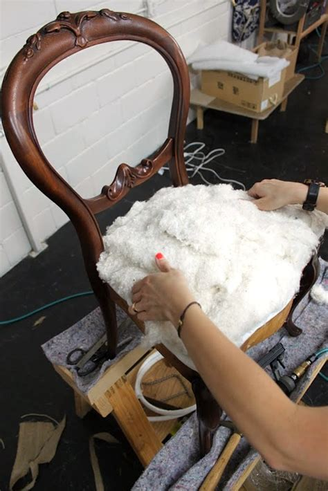 Cotton Upholstery Batting Upholstery Basics Constructing Coil Seats Part 2