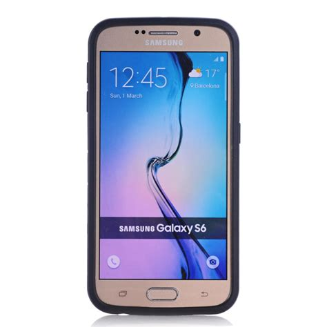 Samsung S6 G9200 funda for samsung s6 coque rugged rubber hybrid plastic for samsung galaxy s6 g9200