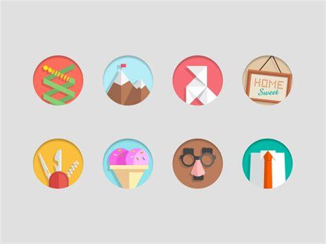 flat design icon video 30 best exles of modern flat icon set mkels com