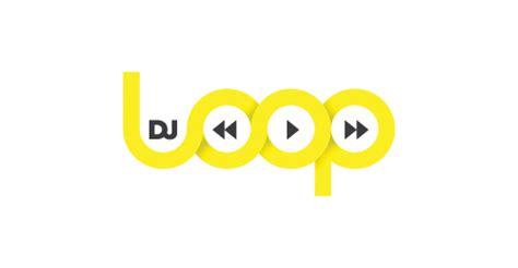 typography loop imagenes de logos de dj imagui