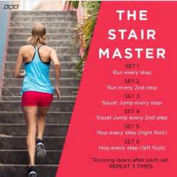 Stair Climbing Workout Routine by Stair Workout Fitness Pinterest