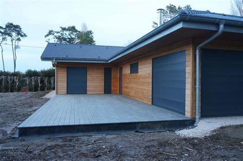 Maison Bois Plein Pied Nos Maisons Ossatures Bois Maison 224 ossature bois de plein pied avec d 244 me nos maisons