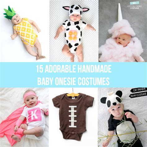Handmade Baby Costumes - 15 adorable handmade baby onesie costumes lines across