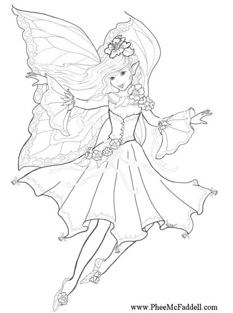 advanced coloring pages pinterest beautiful fairy advanced challenging adult coloring pages