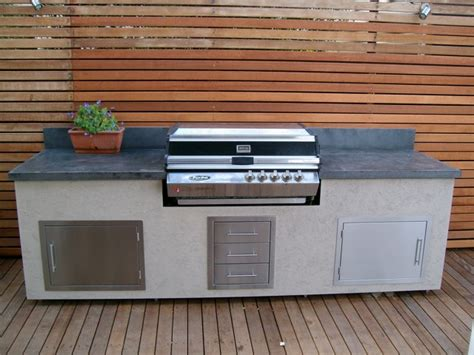 outdoor bbq bench tops the benefits of concrete for benchtops vanities sinks fireplaces and more