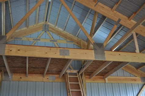 Gambrel Roof House Floor Plans by Six Tips On How To Build A Pole Garage Wick Buildings