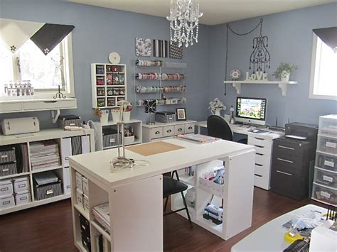 craft rooms using ikea furniture craft rooms