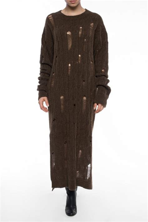 Dress Up Your Lg Shineif You One by Dress With Decorative Holes Damir Doma Vitkac Shop