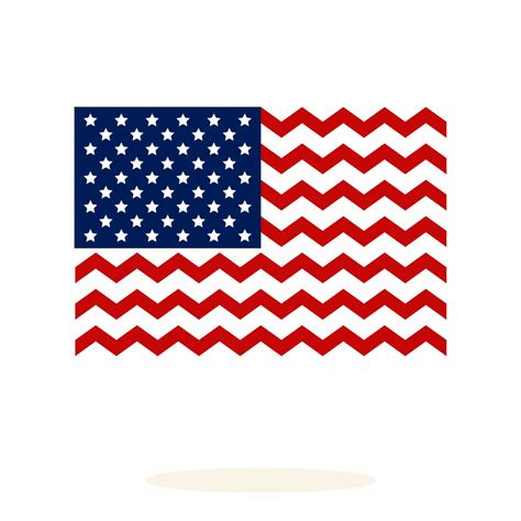 chevron pattern svg file united states flag chevron pattern svg dxf vector art by