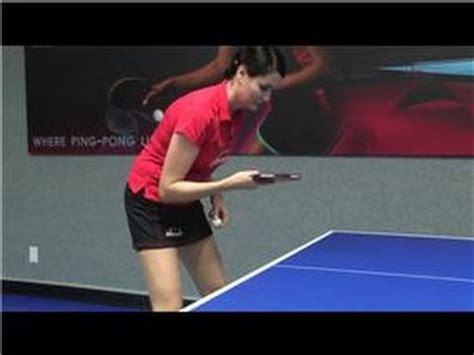 table tennis how to play table tennis including strokes