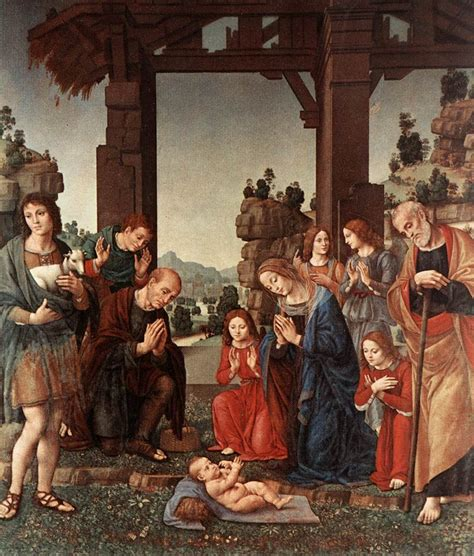 di credi adoration of the shepherds lorenzo di credi