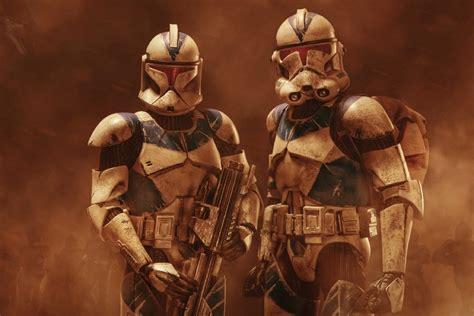 x clones wars wall frame poster stormtrooper clone