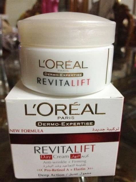 Loreal Day And l oreal revitalift anti wrinkle and firming day review