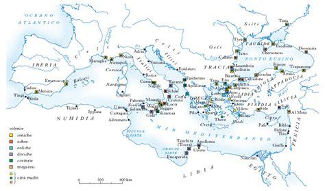 isola greca dei vasi mappa muta grecia antica geografia