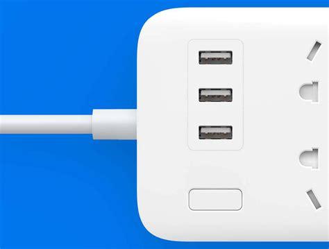 Usb Xiaomi xiaomi mi power 6 socket with 3 usb