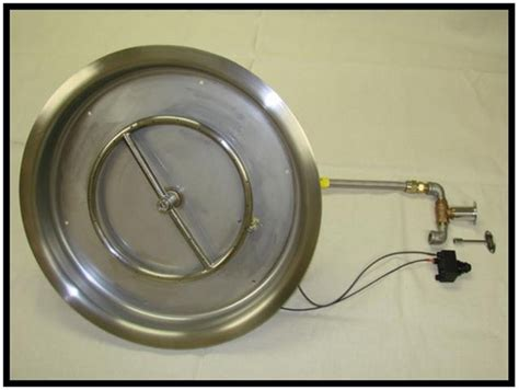 hearth products controls 19 inch stainless steel bowl