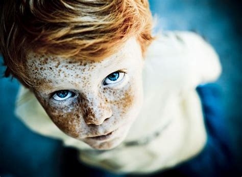 tread hair style for children little boy with red hair blue eyes freckles time of