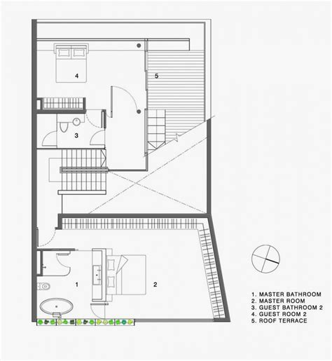 minimalist floor plan minimalist house with extended garden spaces maximum