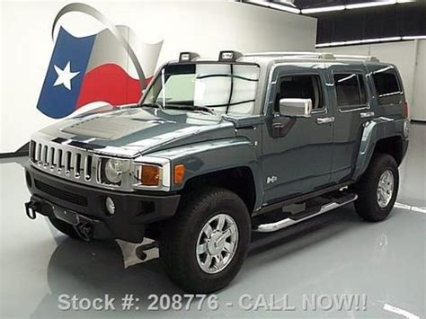 2006 Hummer H3 Roof Rack by Purchase Used 2006 Hummer H3 4x4 Htd Leather Tow Pkg Roof Rack 59k Mi Direct Auto In