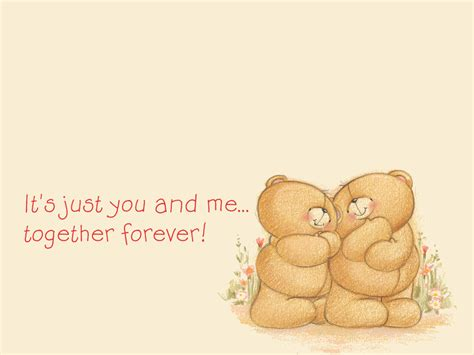 images of love together forever forever friends bears with quotes quotesgram