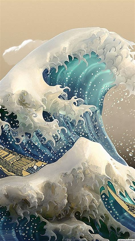 great wave  kanagawa wallpaper gallery