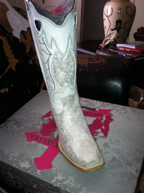 White Wedding Boots by White Wedding Cowboy Boots For Bridal Attire