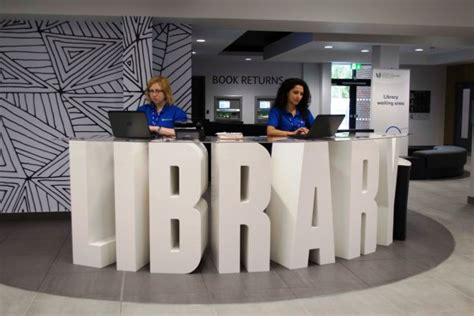 Uwl It Service Desk new library opens at uwl s ealing cus of