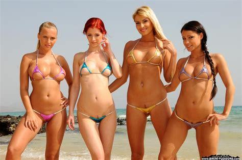 pubic hair at the beach micro string bikini pubic hair newhairstylesformen2014 com