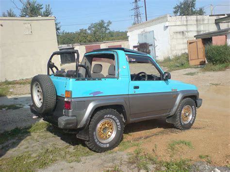 daihatsu rocky for sale 1990 daihatsu rocky for sale 1600cc gasoline manual