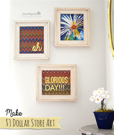 top diy dollar store wall art dollar store craft make 3 wall trio