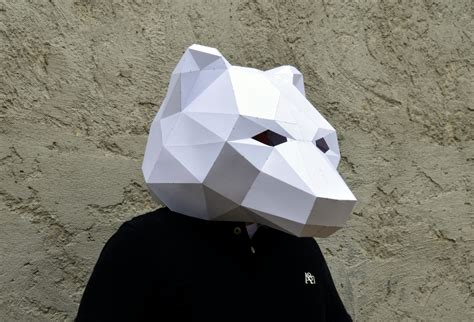 Papercraft Mask - make your own mask papercraft plainpapyrus