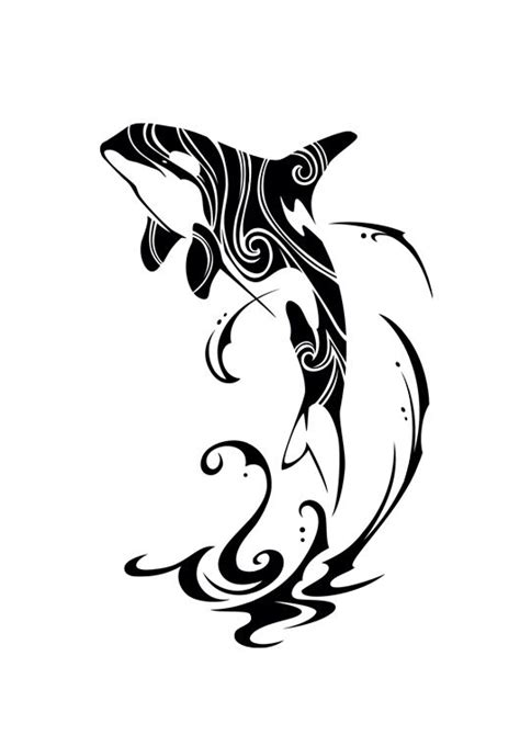 orca tribal tattoo tribal orca 2015 by takihisa on deviantart ideas for the