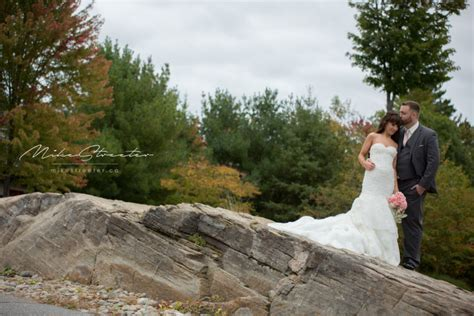 Andrea & Wes   Fall Muskoka Wedding   Milton Ontario